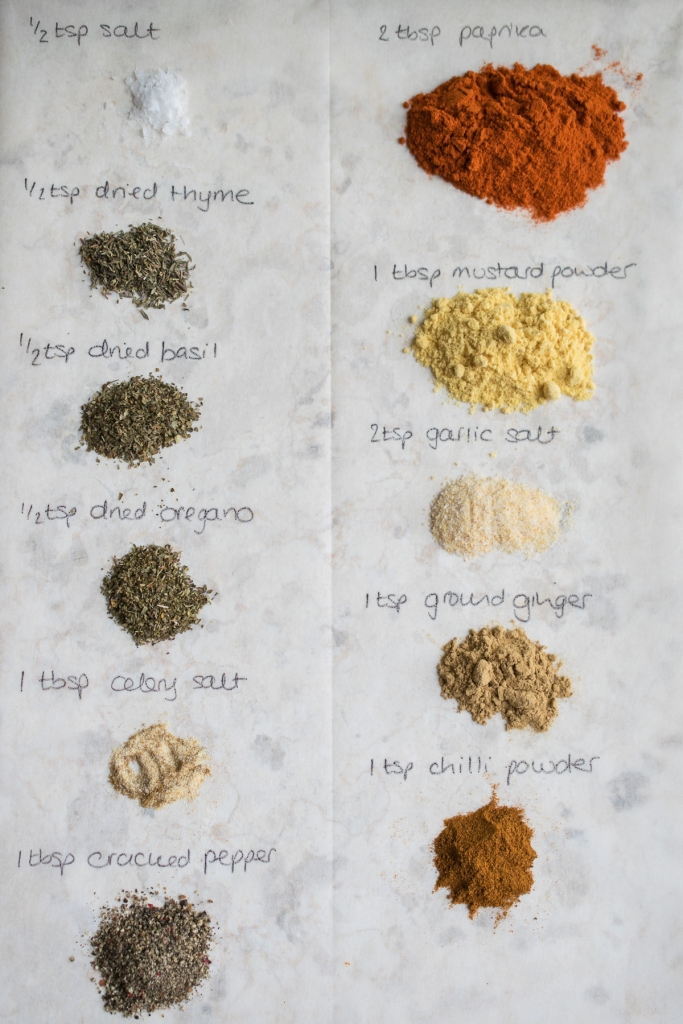 The not-so-secret blend of KFC herbs and spices!