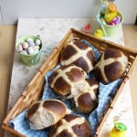 Soft and fluffy hot cross buns