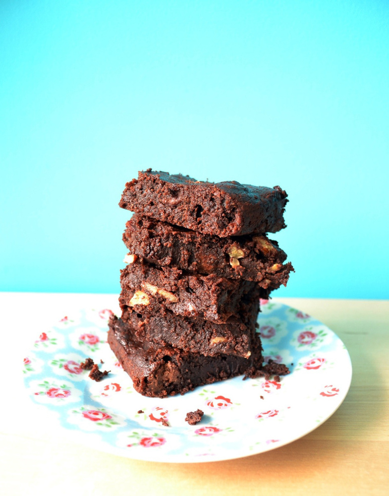 Perfect chocolate brownies, naturally gluten free