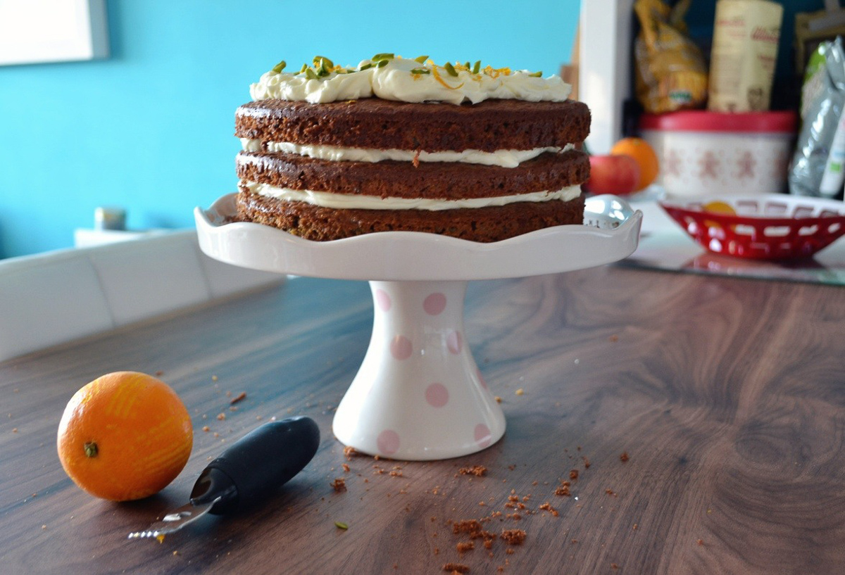 Dan Lepard Carrot Orange And Pistachio Cake