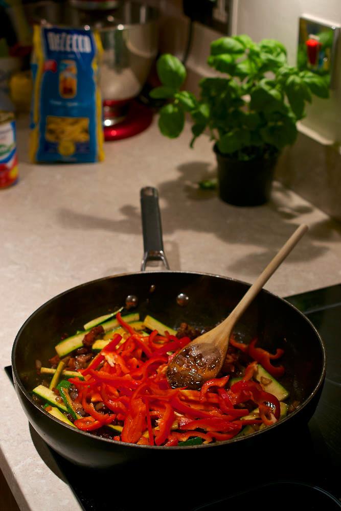pancetta pepper pasta