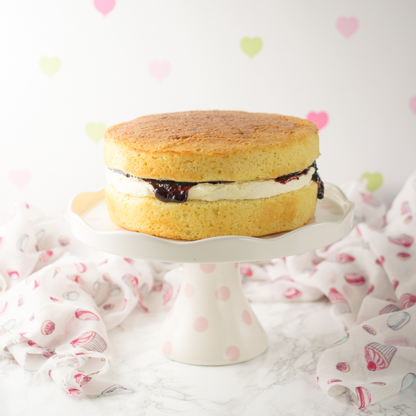 A beautiful cake whether for afternoon tea, birthday or a wedding. Moist yet light and fluffy, many cake makers rely on this recipe for all their plain, vanilla cake needs.