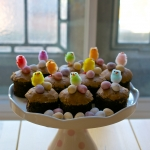 Little Nutella & Biscoff Easter Cakes