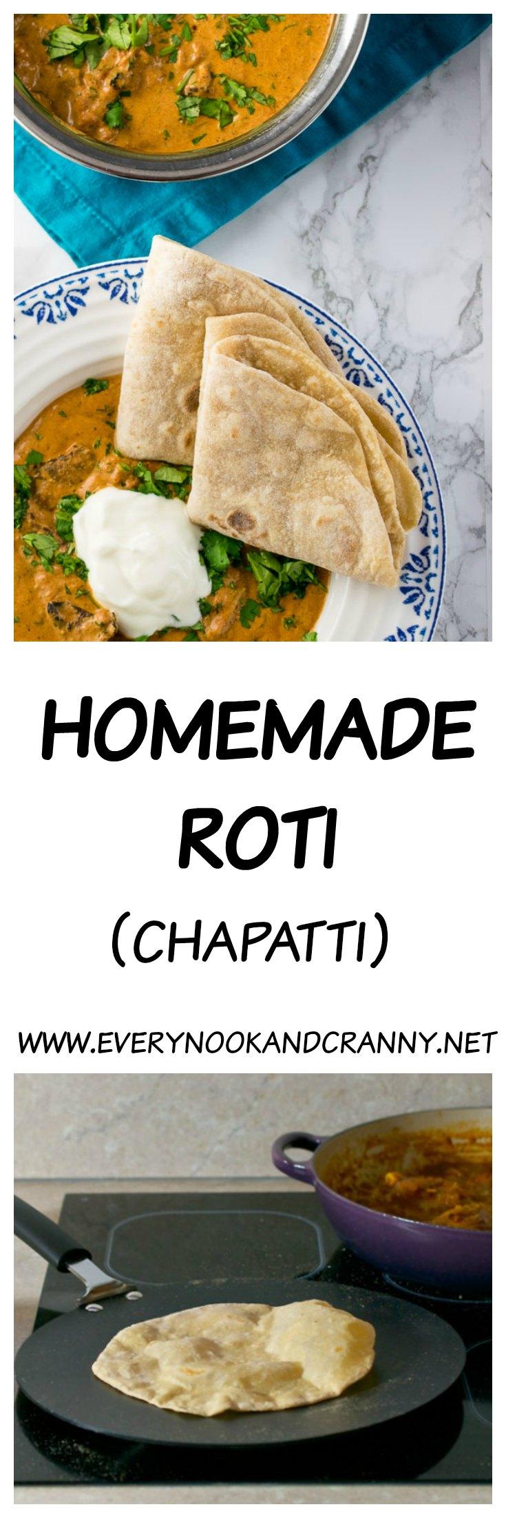 How to make roti (chapatti)