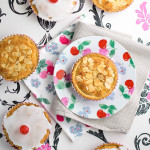 Mini Vanilla Pastry Cherry Bakewells