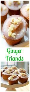 ginger friands