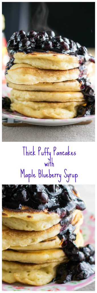 Thick Puffy Pancakes