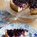Blueberry Maple Cheesecake