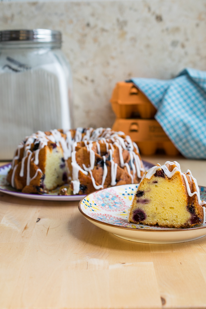 ZIngy Citrus Blueberry Bundt