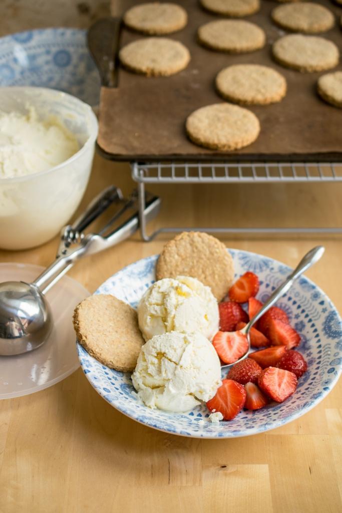 No Churn Cheesecake Ice Cream-2