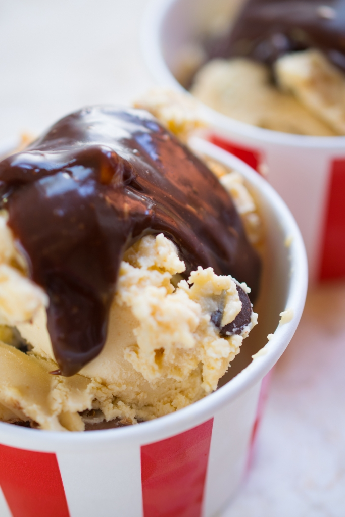 Peanut Butter No Churn Ice Cream-6