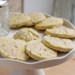 Strawberry Shortbread Biscuits