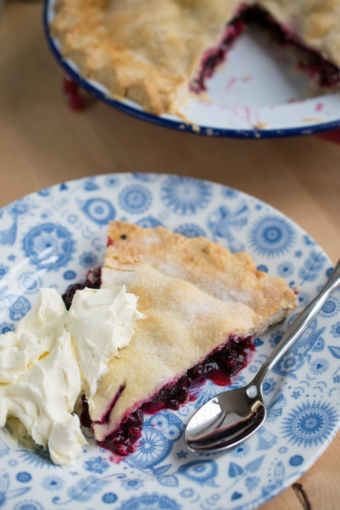 Blackcurrant Plate Pie-10