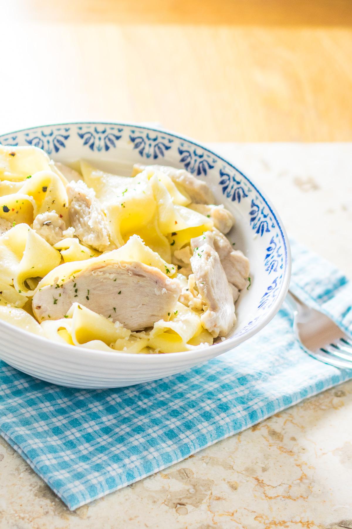 Creamy Chicken Pappardelle