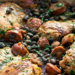 Piri Piri Chicken & Chorizo with Black Beans
