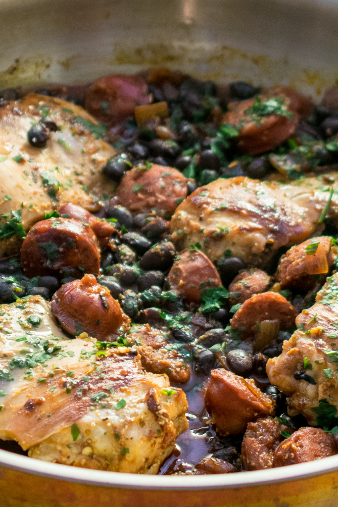 Piri Piri Chicken & Chorizo with Black Beans-3