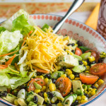 Mexican Salad Bowl - all the things your love about burritos but in a bowl!