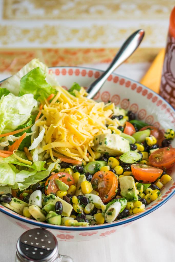 Mexican Salad Bowl Every Nook Amp Cranny
