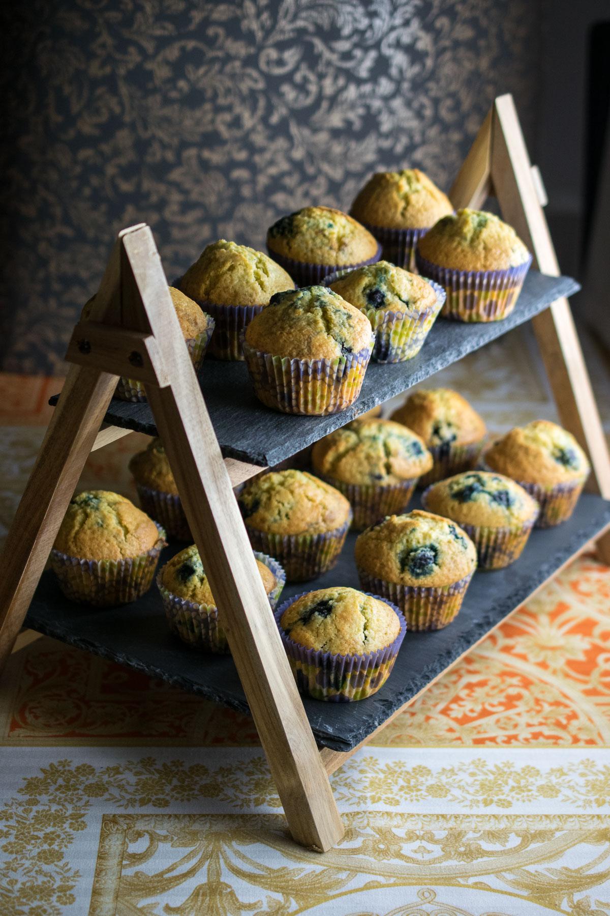 blueberry muffins-4