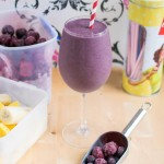Very Berry Smoothie - dairy free but thick and creamy