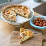 Ham Cheese & Pickle Quiche