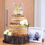 Dairy Free Naked Wedding Cake