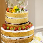 How to make a naked wedding cake, with dairy free option too