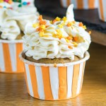 Butterbeer Meringue Buttercream