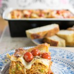 Chicken & Pea Lasagne
