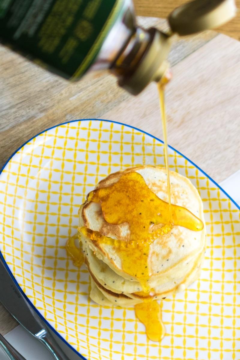 Lemon & Ginger Pancakes