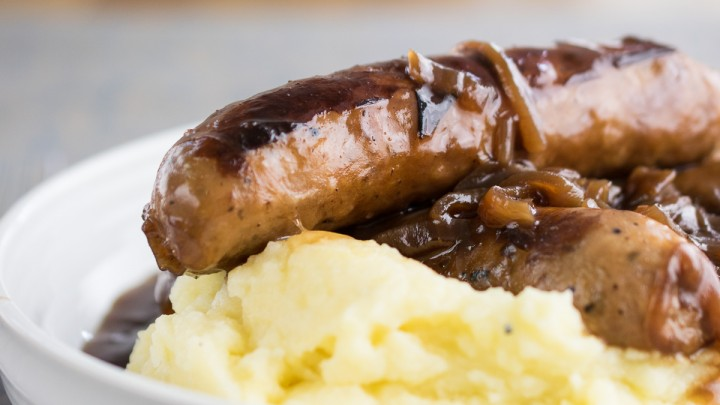 Instant Pot Sausage & Mash