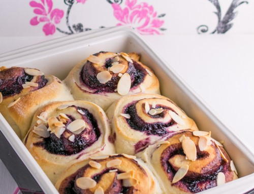 Cherry Almond Buns