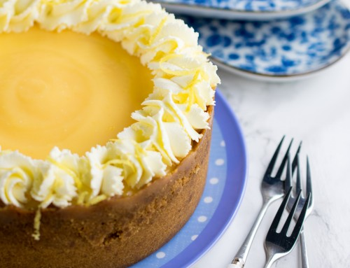 Instant Pot Lemon & Ginger Cheesecake