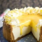Instant Pot Lemon & Ginger Cheesecake