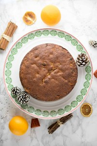Gluten Free Orange & Cinnamon Fruit Cake