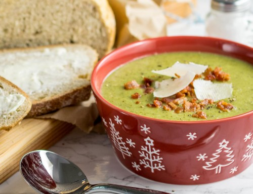 Instant Pot Broccoli & Bacon Soup