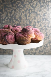 Raspberry Sugar Morning Buns - a croissant-danish hybrid perfect for a leisurely weekend brunch