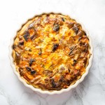 Christmas Leftovers Quiche
