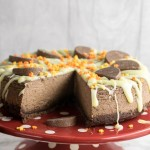 Instant Pot Chocolate Orange Cheesecake