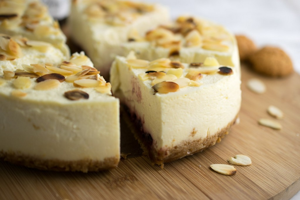 Instant Pot Bakewell Cheesecake