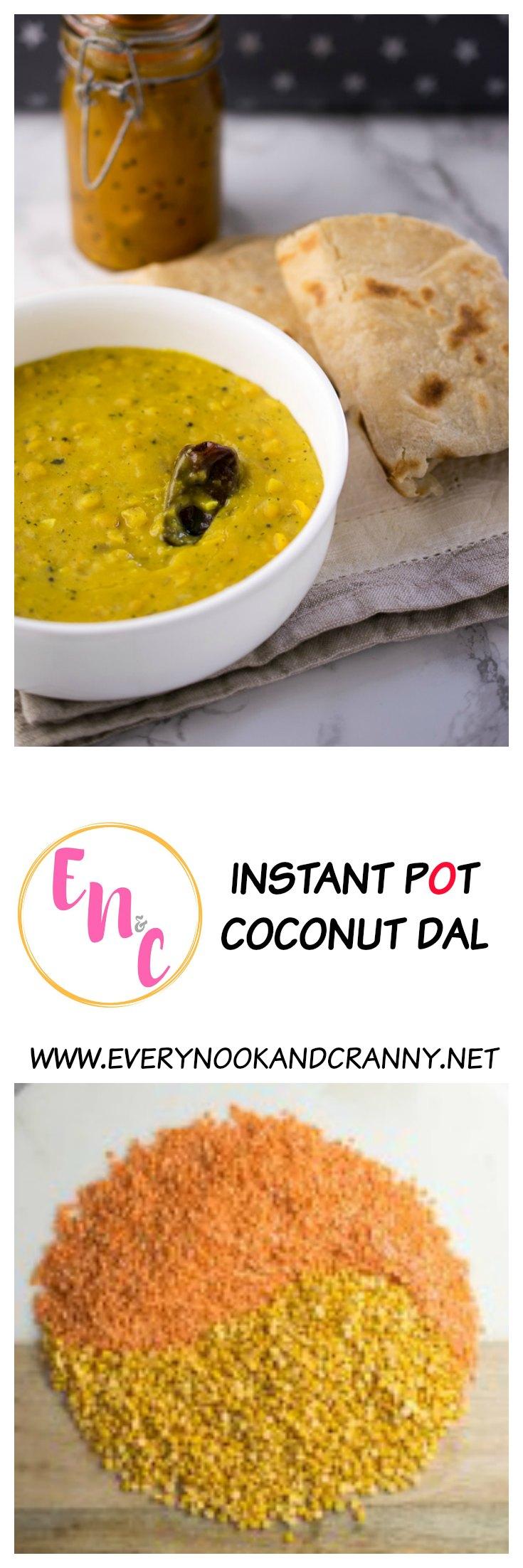 Instant Pot Coconut Dal