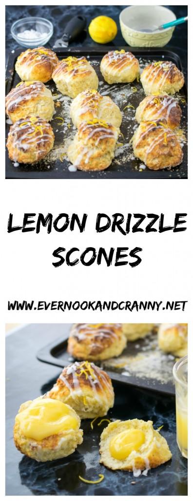 Lemon Drizzle Scones