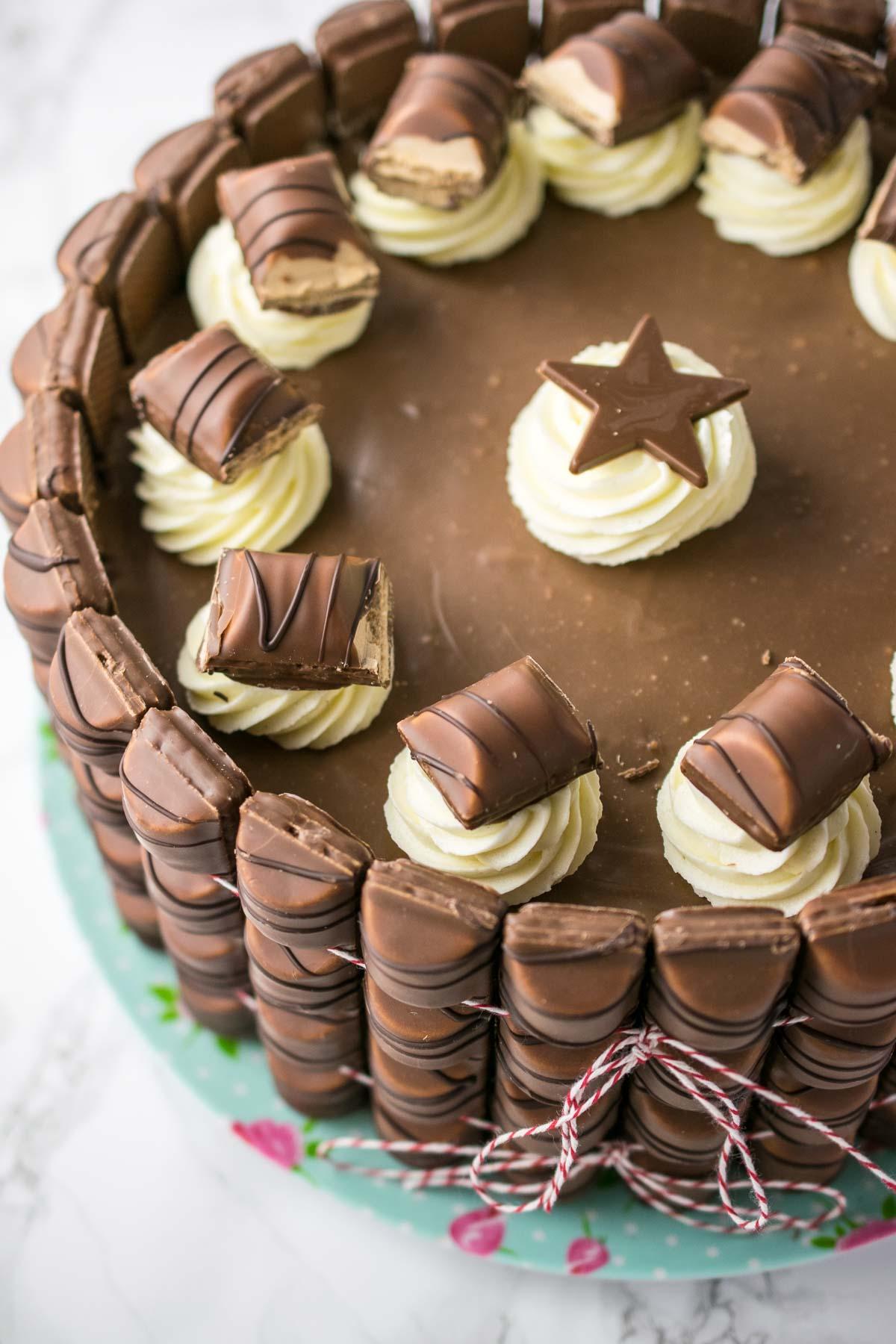 Kinder Chocolate Cake Recipe