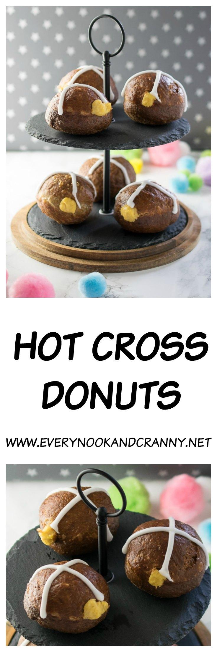 Hot cross donuts