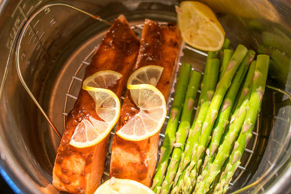 How to cook salmon fillets to perfection in the instant pot