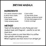 Biryani Masala Spice Mix