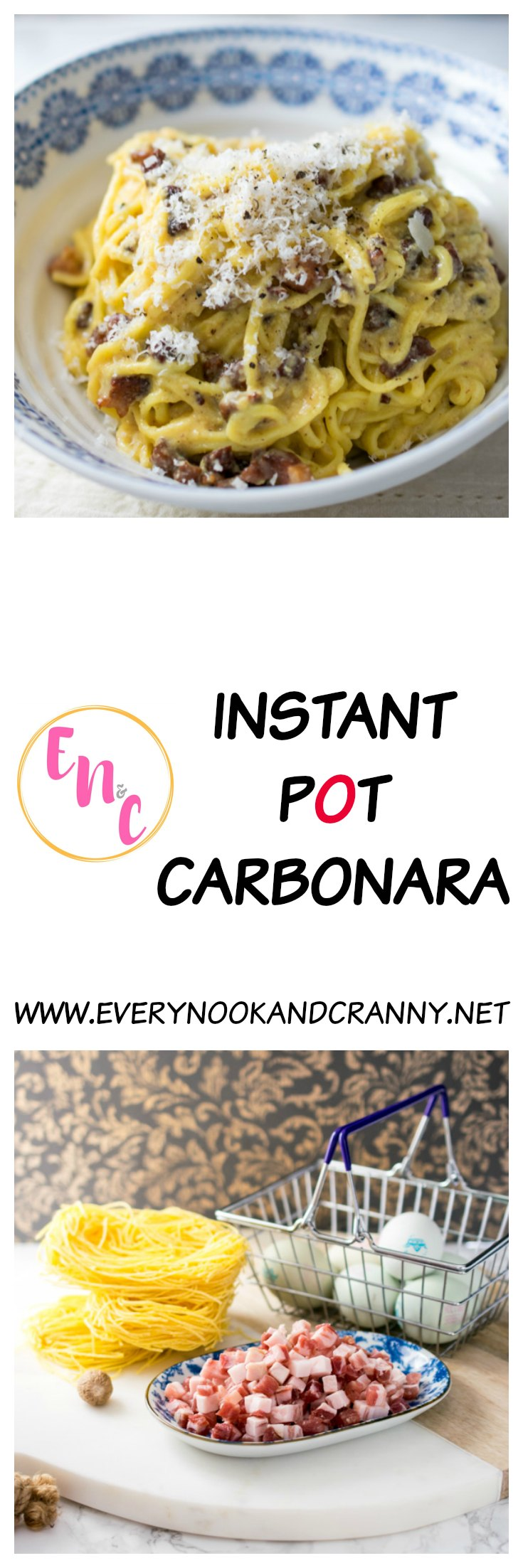How to make a perfect carbonara in the Instant Pot