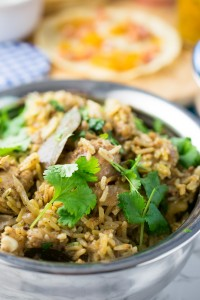 Make a beautiful chicken biryani in the Instant Pot and turn a mammoth cooking task into an everyday one!