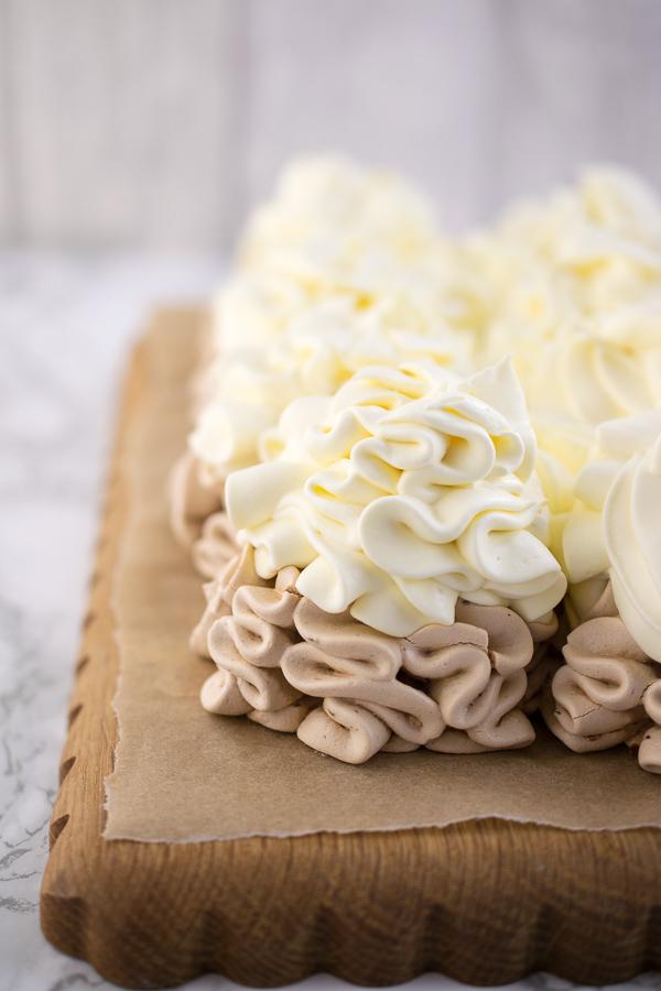 The summer dessert of kings - cherry & vanilla pavlova