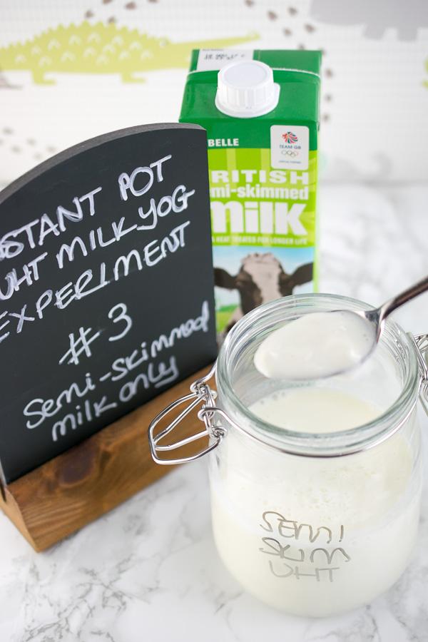 Instant Pot UHT Milk Yogurt - Every Nook & Cranny